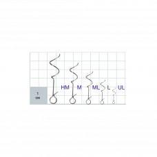 Застежки Gurza-HELIX Clip SN-1402 № L (10шт/уп)