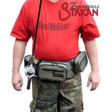 Stakan Бумеранг IdeaFisher — универсальная сумка со съёмным держателем удилища