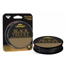 Леска плетеная Berkley Black Velvet 0.12 110м 13.4кг