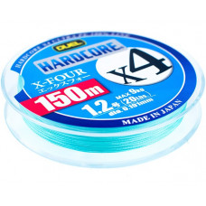 Шнур Hardcore X4 PE 0,6 150м 5,4кг MilkyGreen
