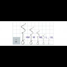 Застежки Gurza-HELIX Clip SN-1402 № UL (10шт/уп)