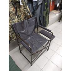 Кресло складное XL с полкой Волжанка 600х460х400 нагрузка 280 кг