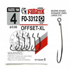 Офсетный крючок Fanatik FO-3312-XL №4