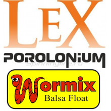 6 мая - завоз Lex porolonium и поплавков Wormix