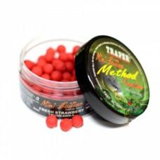 Method Boilies Strawberry (Метод Бойлы 9 мм. Клубника 50гр.)