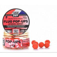 Бойлы плавающие VAN DAF Pop-Ups 12 Чеснок Робин-Рэд