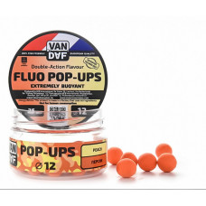 Бойлы плавающие VAN DAF Pop-Ups 12 Персик