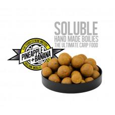 FFEM Super Soluble Boilies Pineapple + Banana 16/20mm с ароматами ананаса и банана