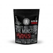 FFEM Soluble Boilies Strawberry 22mm 1kg с ароматом клубники