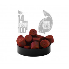 FFEM Hookbaits Pellets Red Halibut 14mm 100гр на основе палтуса и ракообразных