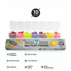 VAN DAF ПОП-АПЫ №1 FLAT-FEEDER 10 mm. набор