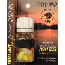 Искусственная кукуруза Carp Baits Flat Feeder Pop Up Sweet Corn Кукуруза