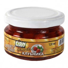 "FISHBERRY Кукуруза насадочная ""Клубника"" - 120 мл"