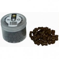 Пеллетс COPPENS BLACK HALIBUT (просверленный) 8мм - 100 гр