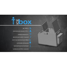 Ящик большой Pelican Ice box classic (большой) д-554мм, ш-260мм, в-420мм