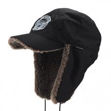 Кепка зимняя Extreal Сити мех барашек корич/мембрана Breathable черная р-р XL