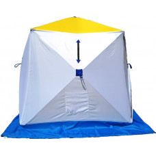 Палатка зимняя СТЭК Куб-2 трёхсойный