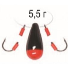 Балда-Чертик Булава 5,5гр Пирс зеленая
