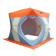 Палатка зимняя НЕЛЬМА Куб-2 Люкс С ВНУТРЕННИМ ТЕНТОМ