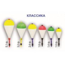 Поплавок зимний Пирс КЛАССИКА пенопласт 1гр
