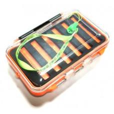 Коробка для мормышек и блёсен двухсторонняя 145х100мм