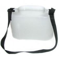 Кан живцовый черный 10 литров Тонар-Ермаков белый