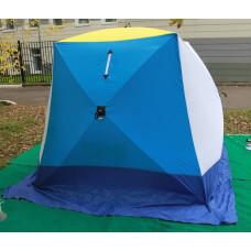 Палатка зимняя СТЭК Куб-3 трёхсойный