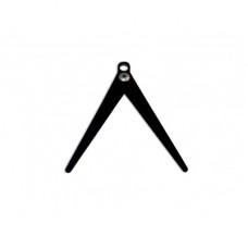 Ножка Мегатекс съёмная, складная на круглый шестик для зимней удочки