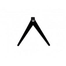 Ножка Мегатекс съёмная, складная на плоский шестик для зимней удочки