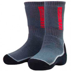 Носки ALASKAN Woolen Socks Grey-Black L (39-43) серые
